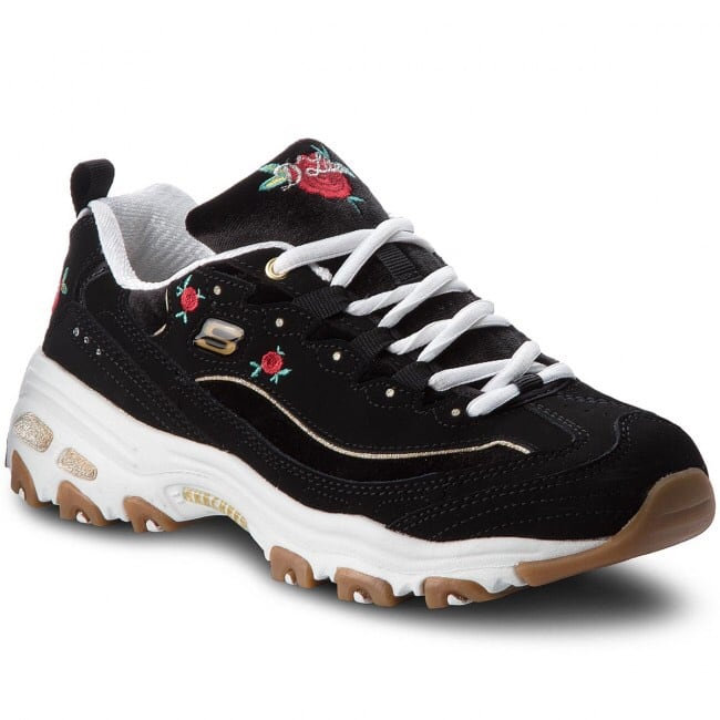 SKECHERS D'LITES - ROSE BLOOMS
