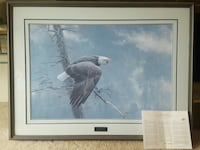 bald eagle painting Mission, V2V