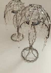 2 Chandelier Tea-Light Candleholders Vancouver, V5X 2G8