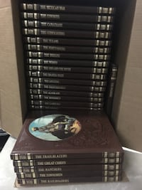 """""""The Old West"""" hard cover books.  Euc"""