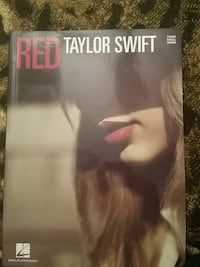 Taylor Swift - Red - Piano/Vocal/Guitar Songbook Piscataway Township, 08854