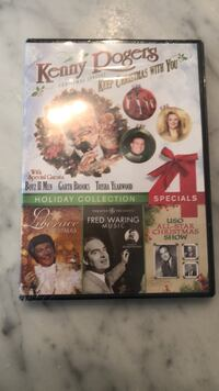 Four assorted dvd movie cases Chevy Chase Section Five, 20815