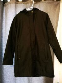UVIC Black long Jacket Size M Victoria, V8R 4K4