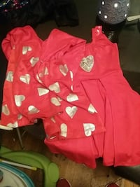 toddler's red and white polka dot dress West Mifflin, 15122