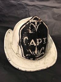 Rare Antique Leather Firefighter Captain Helmet. Fire Rescue  Ottawa, K0A 3H0