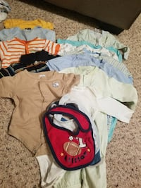 baby's assorted clothes Hampton, 23666