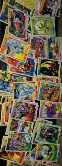 1991 Marvel Ent. Heroes/Villains Trading Cards Los Angeles, 91326
