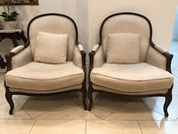 Restoration Hardware Lyon Chairs (2) Fullerton, 92833