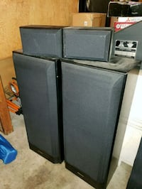 Pioneer speakers. Reasonable offers welcomed Concord, 94521