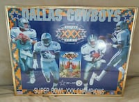 Dallas Cowboys Superbowl XXX Poster Mechanicville, 12118
