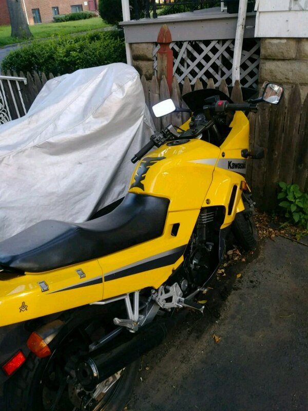 Used Yellow And Black 2004 Kawasaki Ninja 250 Ex For Sale In East