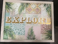 New Explore Wall Sign  Virginia Beach, 23454