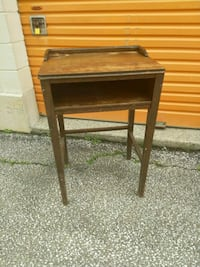 Vintage Wooden School Desk 527 km