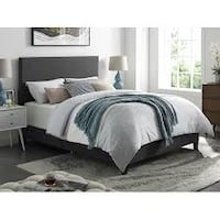 DHI Upholstered Apartment Platform Bed, Grey, Queen (New in Box) Fort Wayne