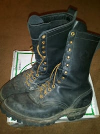 Mens FireFighting Boots