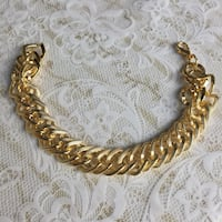 Gold plated chain intricate bracelet  Silver Spring, 20904