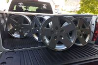 """I have all five rims that came off a jeep wrangler size 17"""" r Hampton, 23669"""
