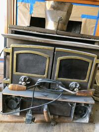 Fire place insert wood burner