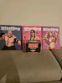 What Culture Wrestling Magazine Issue #2, 3 and 6. and Trivia Game Woodbridge, 22191