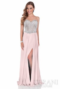 Terani Couture Prom Dress Size 2 With Shawl - Blush Pink Brampton, L6S 1L1
