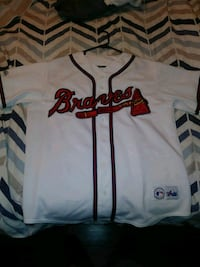 white and red Atlanta Braves jersey El Paso, 79912