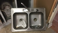 stainless steel sink with faucet Norcross, 30071