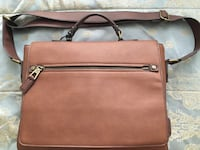 brown leather 2-way bag Temple Hills, 20748