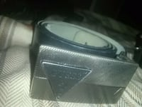 black Guess leather belt Winnipeg, R2W 4T6