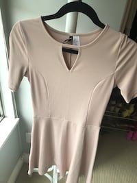 Pink dress from h and m DIVIDED size6/36 Port Coquitlam