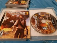 Sony PS3 Uncharted 3 game disc Barrie, L4N 2R8
