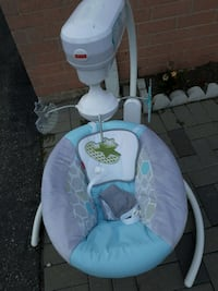 baby swing, fisher price, used twice  or best of offer Toronto, M1B 1Y5