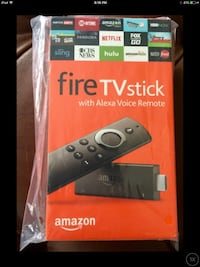 Amazon Fire TV stick box