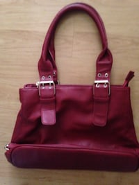 women's pink leather tote bag London, N5W 2E7