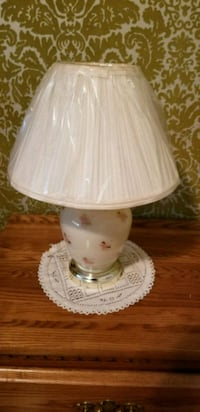 white and pink table lamp Mississauga, L5B 2S7