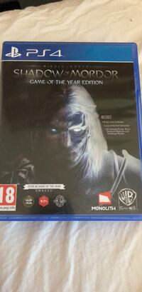 Sony ps4 shadow of mordor Wuppertal, 42119