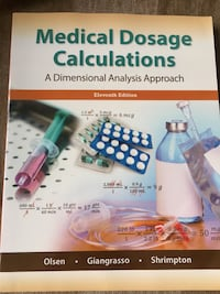 Medical dosage calculations book Mississauga, L5B 3Z1