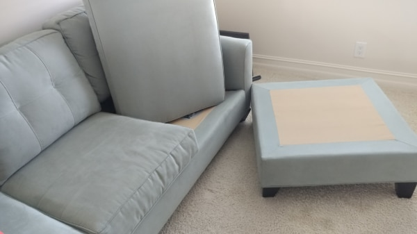 Sectional Sofa Couch With Lounger Brand New