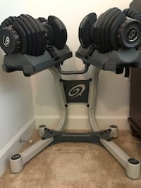 Nautilus / Bowflex SelectTech 552 Dumbbells with Stand Falls Church, 22042