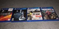 Two sony ps4 game cases Milwaukie, 97222