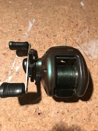 black and gray fishing reel Herndon, 20171