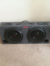 black and gray subwoofer speaker Toledo, 43615