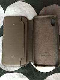 Iphone X/XS Leather Foli