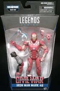 Marvel Legends Iron-Man Mark 46 Action Figure  Port Coquitlam, V3B 7G7