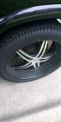 24 in rims and tires