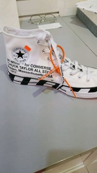Off White Chuck Taylor Brand New in Box SIZE 11 Vancouver, V6E 3X2