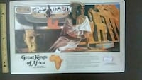 Rare Budweiser posters kings and queens of Africa St. Louis, 63108
