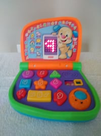 baby's green and orange learning toy Rome