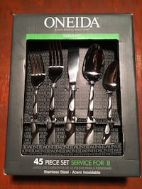 Oneida cutlery set with box Silver Spring, 20904