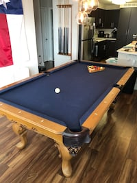 blue and brown pool table Philadelphia, 19107