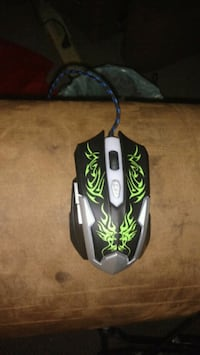 Light up colour changing gaming mouse